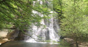 cascata di alfero